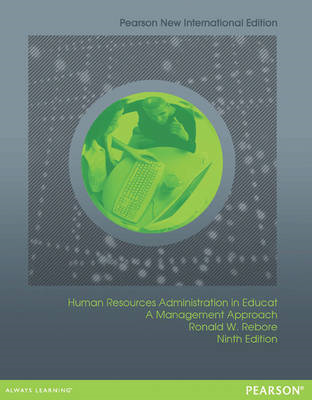 Human Resources Administration in Education: A Management Approach (BOK)