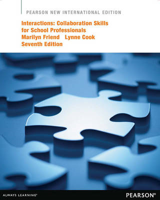 Interactions: Collaboration Skills for School Professionals (BOK)