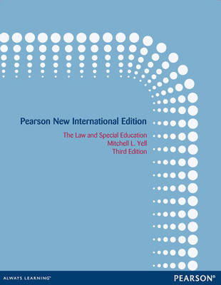 The Law and Special Education (BOK)
