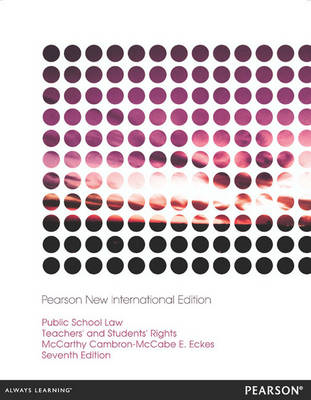 Public School Law: Teachers' and Students' Rights (BOK)
