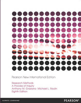 Research Methods: Pearson New International Edition (BOK)