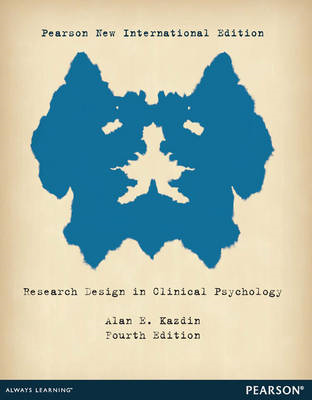 Research Design in Clinical Psychology (BOK)