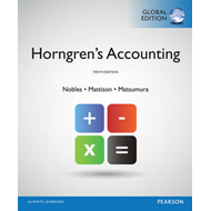 Horngren's Accounting, Global Edition (BOK)