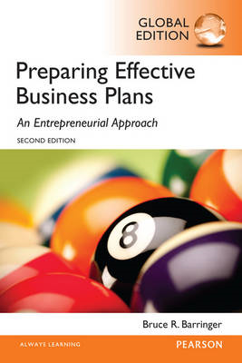 Barringer: Preparing Effective Business Plans: An Entreprene (BOK)