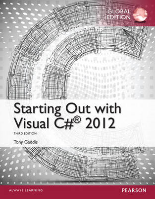 Starting Out with Visual C# 2012 (BOK)