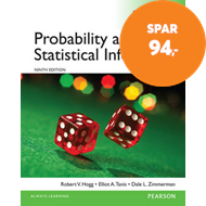 Produktbilde for Probability and Statistical Inference, Global Edition (BOK)