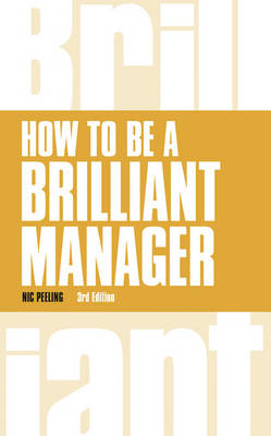 How to be a Brilliant Manager (BOK)