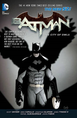 Batman Volume 2: The City of Owls HC (The New 52) (BOK)