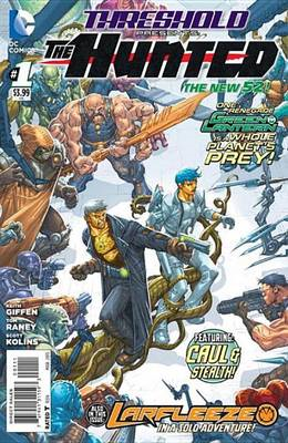 Threshold: Volume 1: Hunted (the New 52) (BOK)