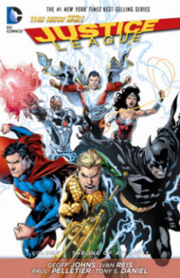 Justice League Vol. 3 Throne Of Atlantis (The New 52) (BOK)