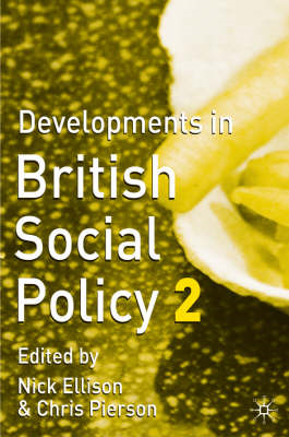 Developments in British Social Policy (BOK)