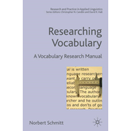 Researching Vocabulary: A Vocabulary Research Manual (BOK)