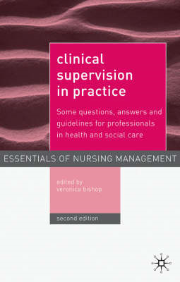Clinical Supervision in Practice: Some Questions, Answers and Guidelines for Professionals in Health (BOK)
