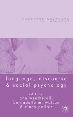 Language, Discourse and Social Psychology (BOK)