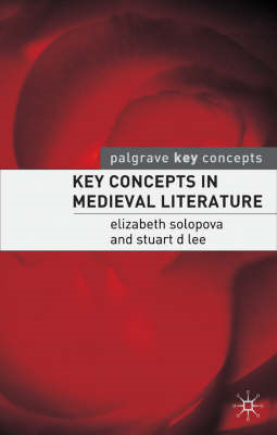 Key Concepts in Medieval Literature (BOK)