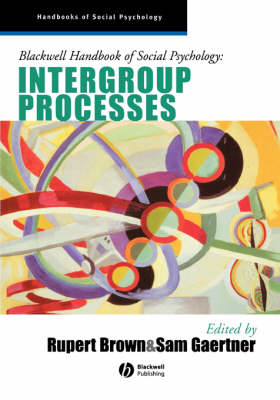 Blackwell Handbook of Social Psychology: Intergroup Processes (BOK)