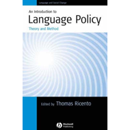 Introduction to Language Policy - Theory and   Method (BOK)