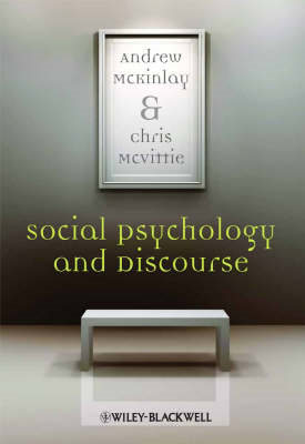 Social Psychology and Discourse: An Introduction (BOK)