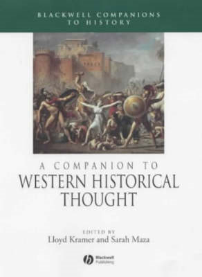 Companion to Western Historical Thought (BOK)