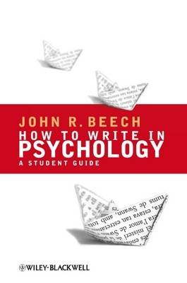 How to Write in Psychology (BOK)