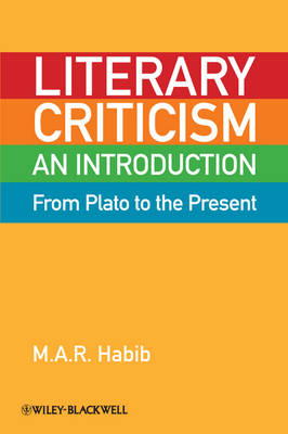 Literary Criticism from Plato to the Present (BOK)
