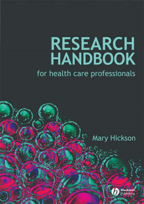 Research Handbook for Health Care Professionals (BOK)