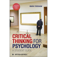 Critical Thinking For Psychology (BOK)