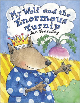 Mr Wolf and the Enormous Turnip (BOK)