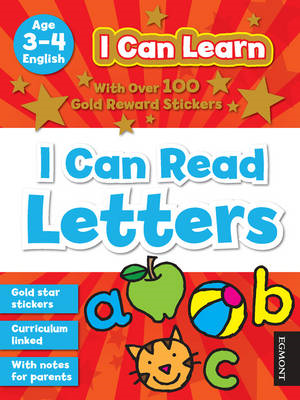 I Can Learn: I Can Read Letters (BOK)