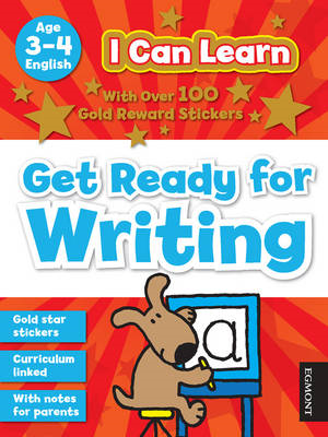 I Can Learn: Get Ready for Writing: Age 3-4 (BOK)