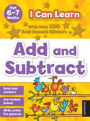I Can Learn: Add and Subtract (BOK)