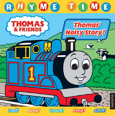 Thomas & Friends Rhyme Time: Thomas' Noisy Story!: Baby Bedtime Stories (BOK)