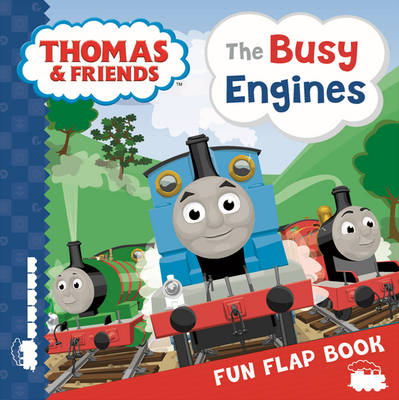 Thomas & Friends: The Busy Engines Lift-the-Flap Book (BOK)