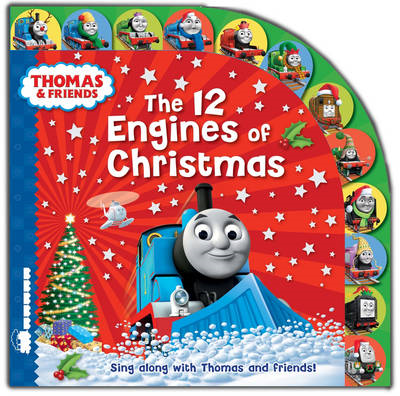 Thomas & Friends: The 12 Engines of Christmas (BOK)