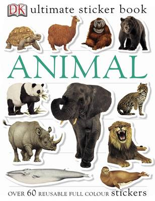 Animal Ultimate Sticker Book (BOK)