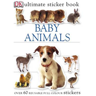 Baby Animals Ultimate Sticker Book (BOK)