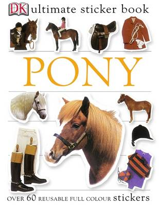 Pony Ultimate Sticker Book (BOK)