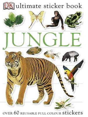 Jungle Ultimate Sticker Book (BOK)