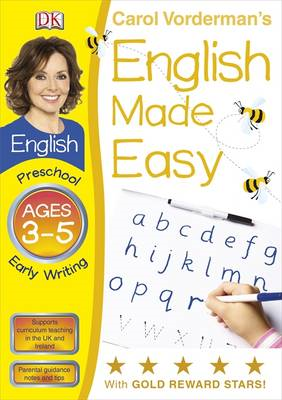 English Made Easy Early Writing Preschool Ages 3-5 (BOK)