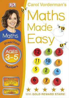 Maths Made Easy Numbers Preschool Ages 3-5 (BOK)