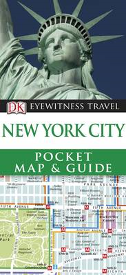 DK Eyewitness Pocket Map and Guide: New York City (BOK)