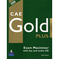 CAE Gold PLus Maximiser and CD with key Pack (BOK)