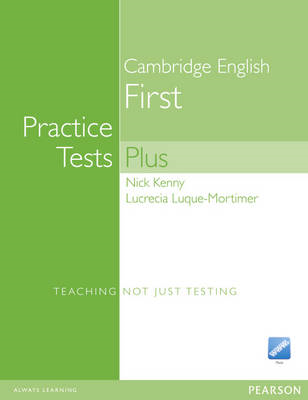 Practice Tests Plus FCE New Edition Students Book without Key/CD-ROM Pack (BOK)