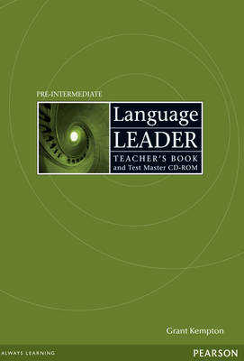 Language Leader Pre-Intermediate Teachers Book and Test Master CD-ROM Pack (BOK)