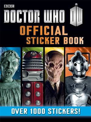 Doctor Who Official Sticker Book (BOK)