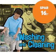 Produktbilde for Washing and Cleaning (BOK)