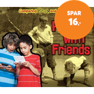 Produktbilde for Playing with Friends (BOK)