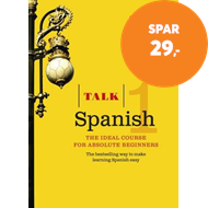 Produktbilde for Talk Spanish 1 (Book/CD Pack) - The ideal Spanish course for absolute beginners (BOK)