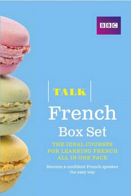 Talk French Box Set (Book/CD Pack) (BOK)