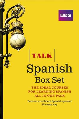 Talk Spanish Box Set (Book/CD Pack) (BOK)